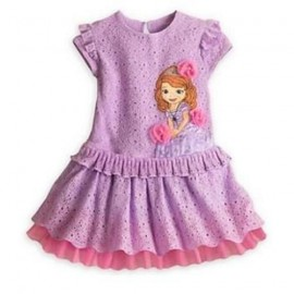 New 2014 Sofia summer girls dress/Cartoon Sofia the First childrens clothing/Adorable princess lace dress Dresses Cheap Dresses girls dress/Cartoon