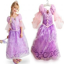 2015 Princess sofia the first dress Girls Party Wedding Girl Dress Cartoon Princess Dress Freeshipping toycity dress glamour dress children dress light