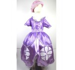 1pc Retail Sofia Princess Fluffy Dress Big Petals Princess Sophia Tutu …